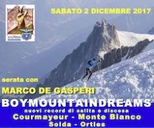 2 Dicembre Serata con Marco dei Gasperi