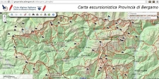 Geoportale del CAI Bergamo