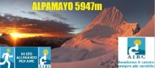 Spedizione sull'Alpamayo (5947 m) in Perù: solidarietà in vetta
