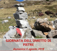 Domenica 5 agosto 2018 Giornata Ometto di Pietre